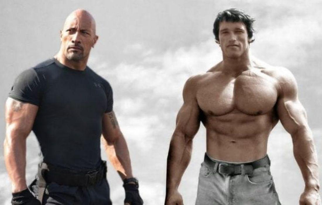 How Dwayne Johnson Surpassed Arnold Schwarzenegger