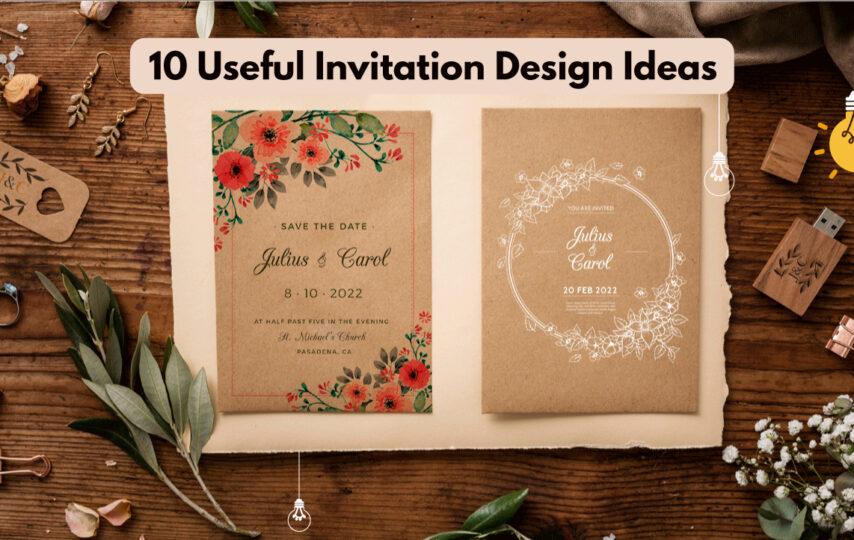 invitation design ideas