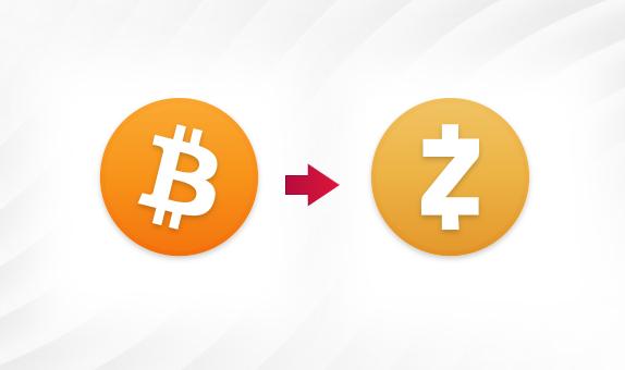 How to Exchange BTC for ZEC
